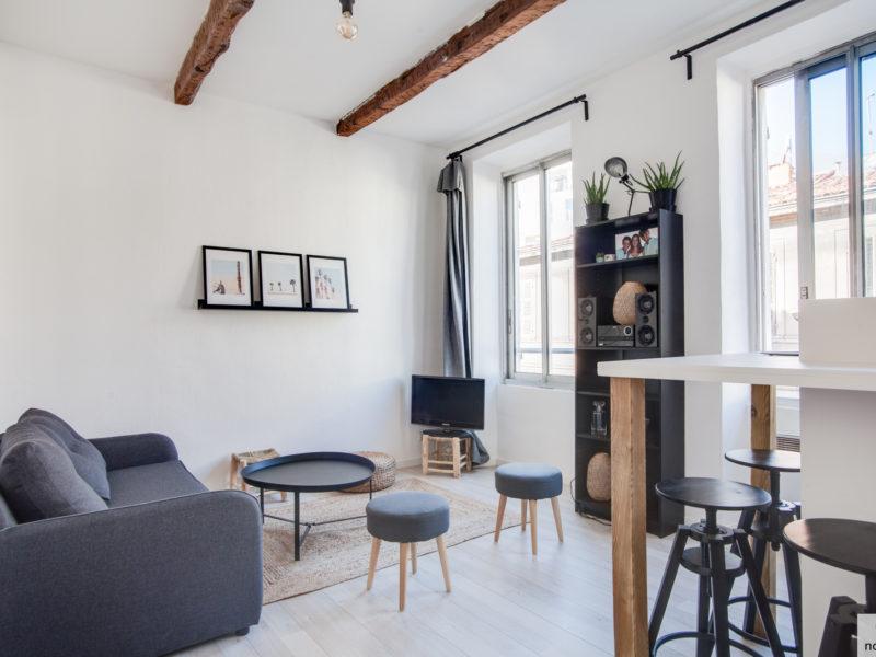 Novaclem - Salon Petit chauvelin - Investissement Marseille