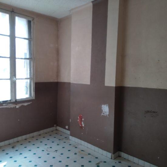 Novaclem - Chambre avant travaux Coloc Labadie - Investissement Marseille