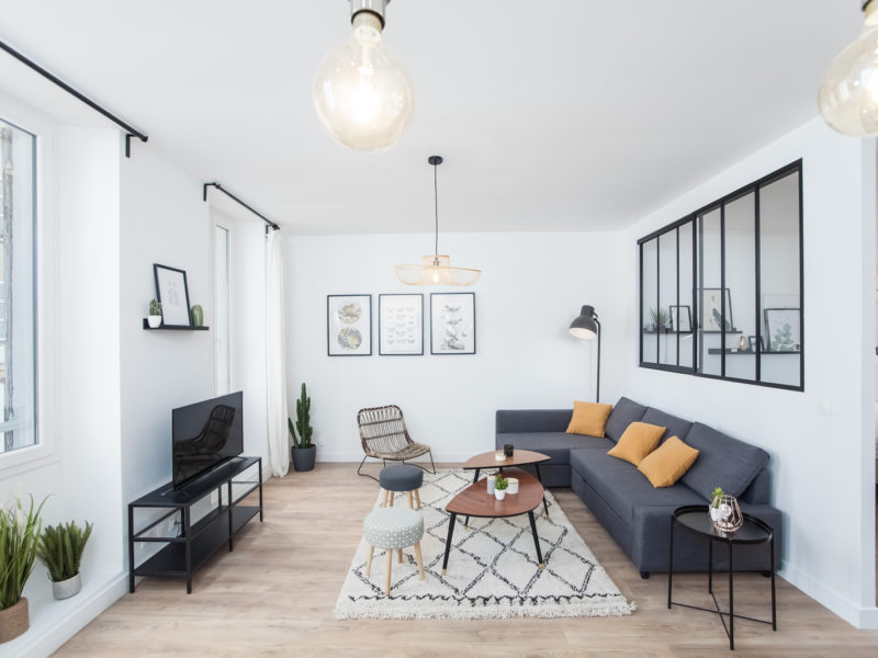 Novaclem - Salon 2 Loft Goudard - Investissement Marseille