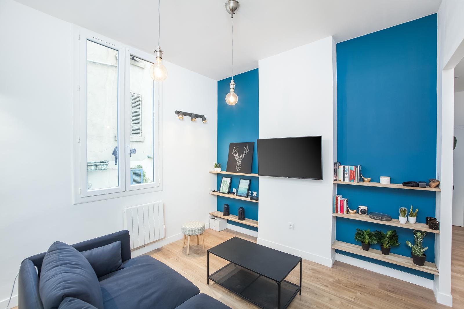 Novaclem - Salon 2 Coloc Labadie - Investissement Marseille
