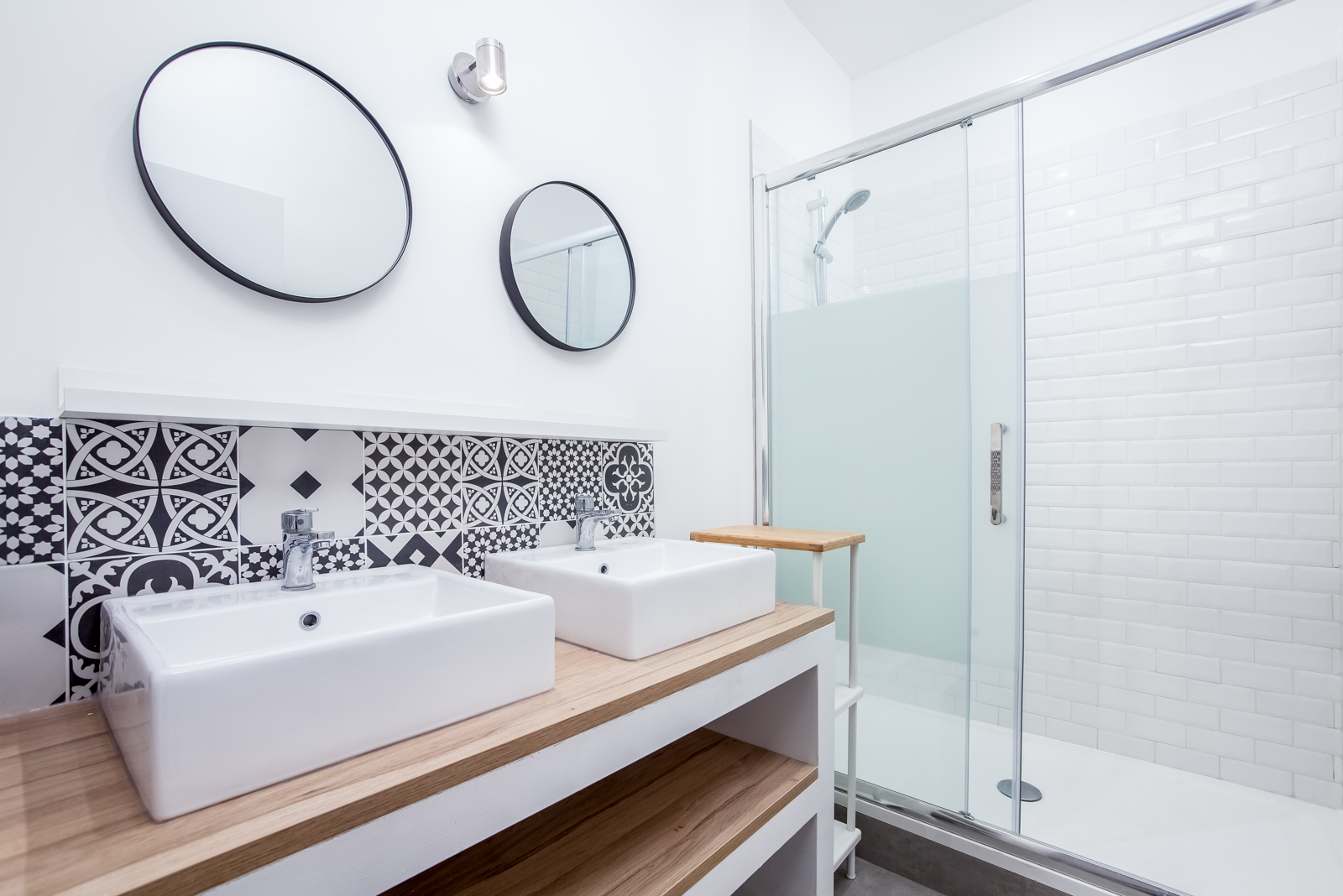 Novaclem - Salle de bain Coloc Labadie - Investissement Marseille