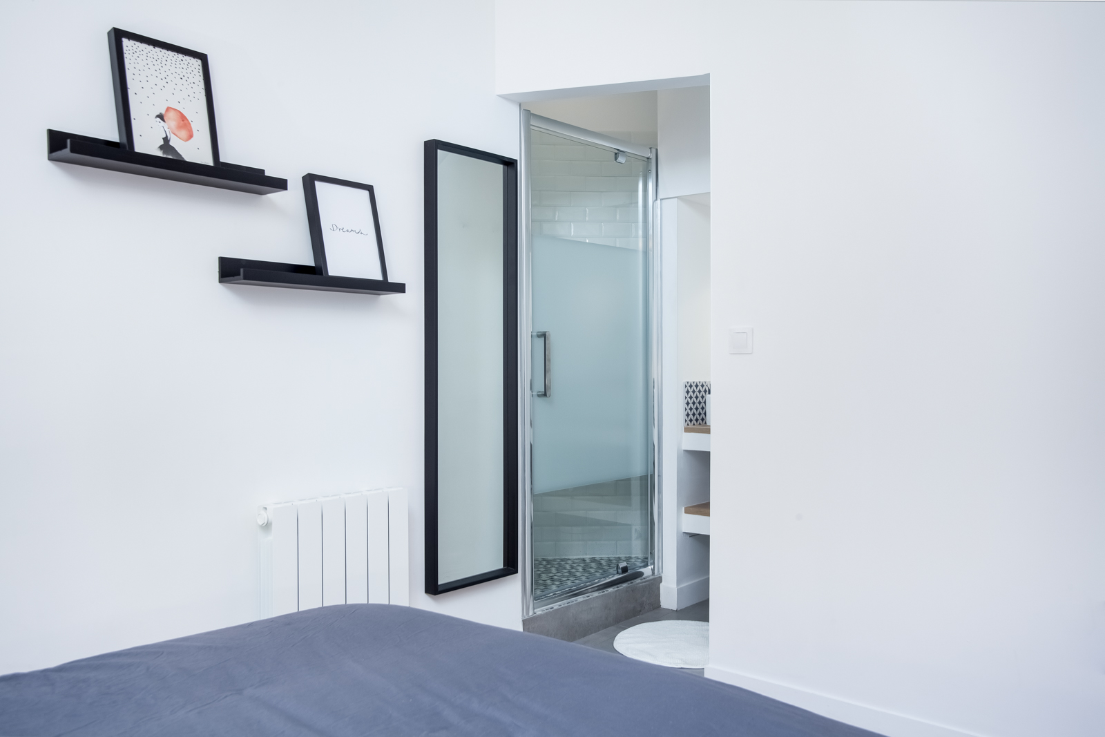 Novaclem - Chambre 2 Coloc Labadie - Investissement Marseille