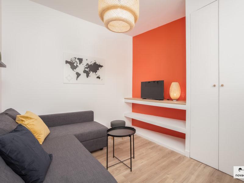 Novaclem - Salon 2 3 studios Saint Pierre - Investissement Marseille