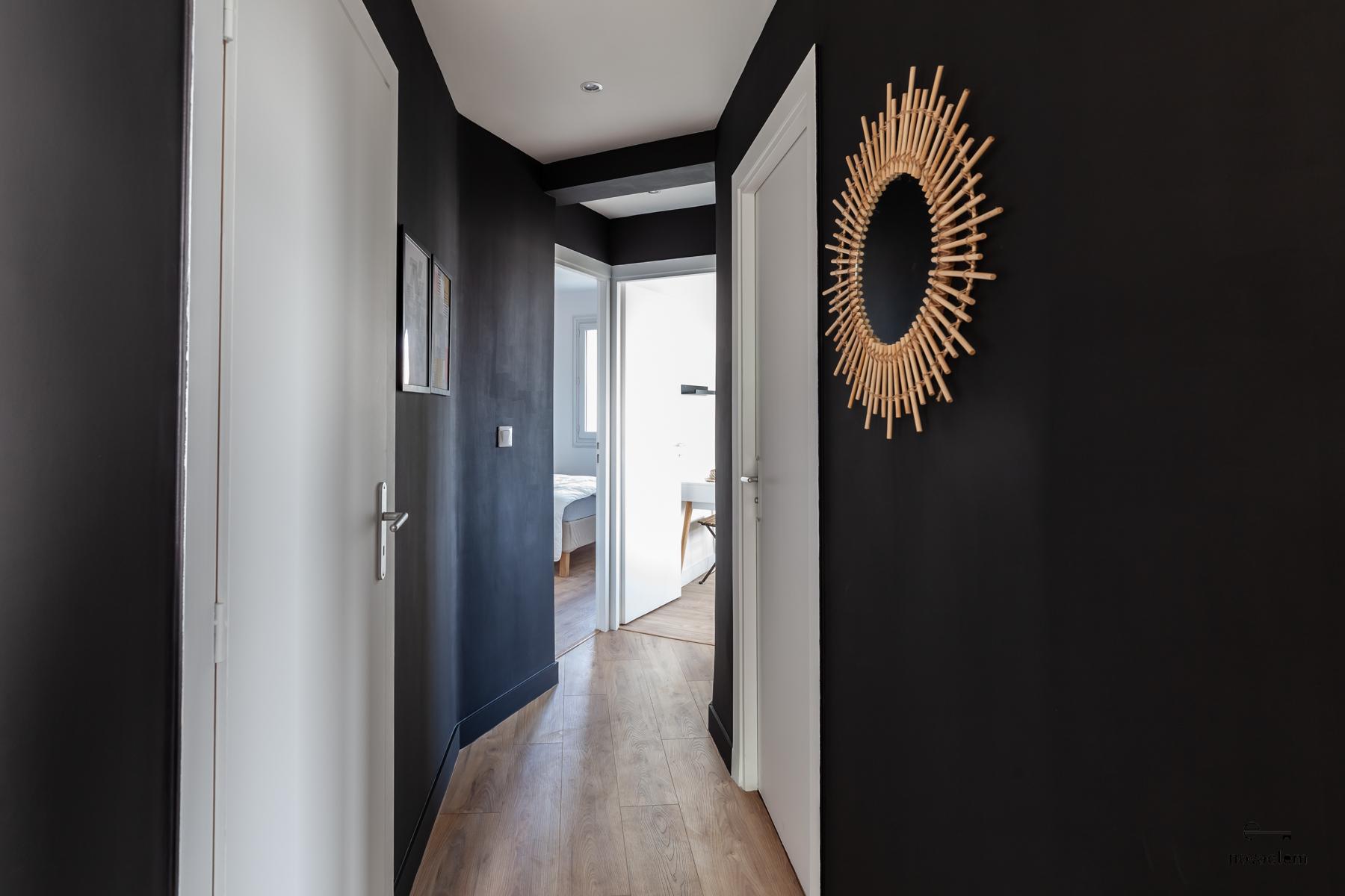 Novaclem - couloir après travaux Coloc Galinat - Investissement Marseille