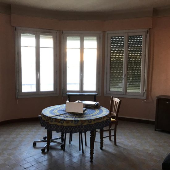 Novaclem -Salon avant travaux Coloc Monastère - Investissement Marseille