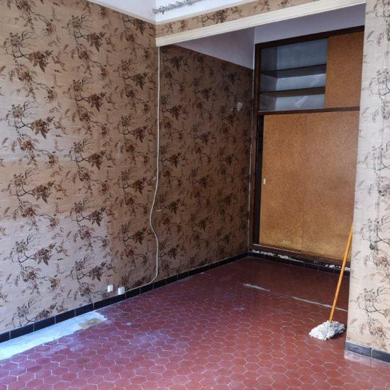 Novaclem - chambre avant travaux Mini loft Camas - Investissement Marseille