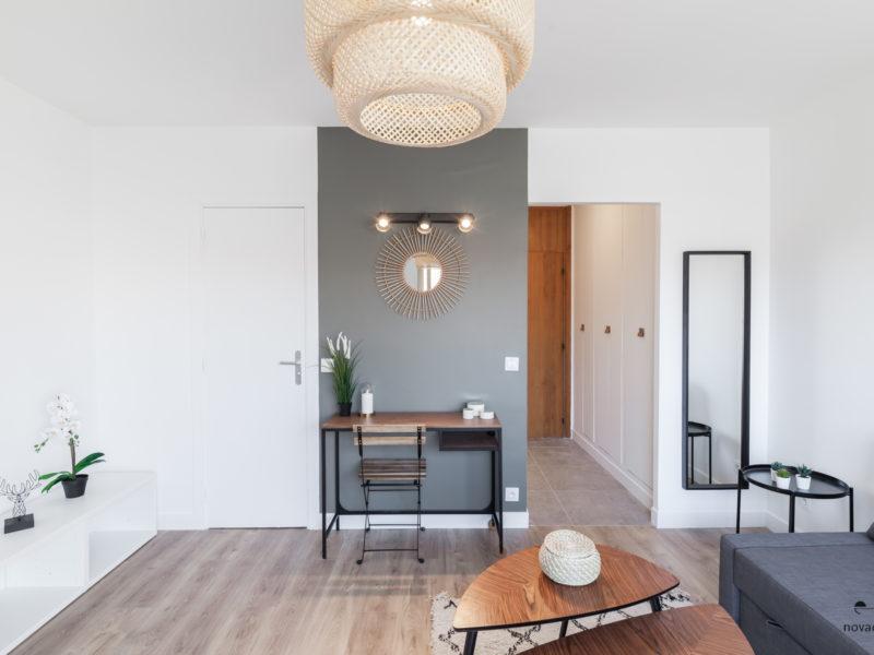 Novaclem - salon 2 après travaux Studio Delessert - Investissement Marseille